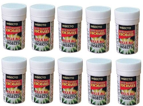 Carpet Moth Mini Fumigation Smoke Bombs x 10